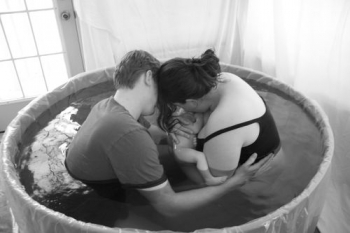 water birth 350x233